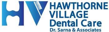 Hawthorne Village Dental Logo