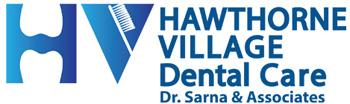 Hawthorne Village Dental Logo